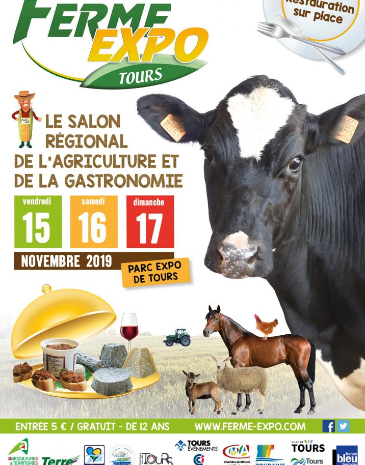 Ferme expo tours ev nements - Acces salon de l agriculture ...